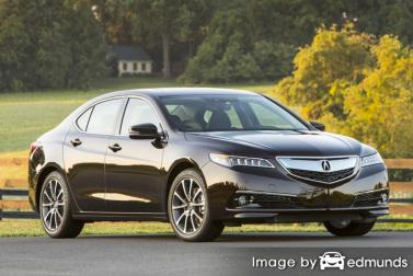 Insurance quote for Acura TLX in Long Beach