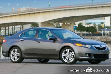 Insurance rates Acura TSX in Long Beach