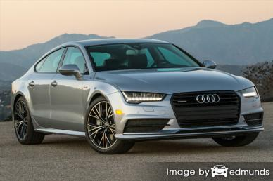 Insurance rates Audi A7 in Long Beach