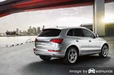 Insurance quote for Audi Q5 in Long Beach
