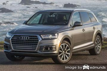 Insurance rates Audi Q7 in Long Beach