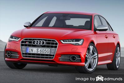 Insurance quote for Audi S6 in Long Beach