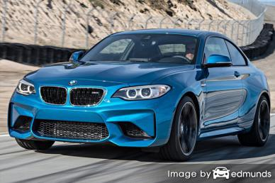 Insurance rates BMW M2 in Long Beach