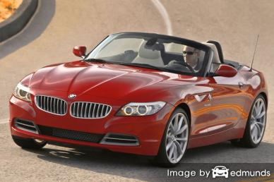 Insurance quote for BMW Z4 in Long Beach