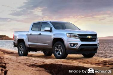 Discount Chevy Colorado insurance