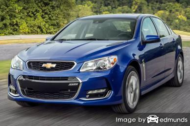 Insurance rates Chevy SS in Long Beach