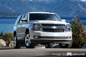 Discount Chevy Tahoe insurance