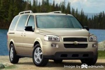 Insurance quote for Chevy Uplander in Long Beach