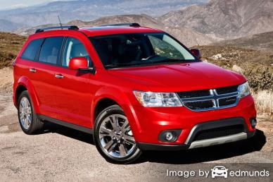 Insurance quote for Dodge Journey in Long Beach