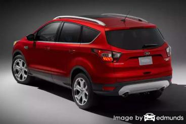 Insurance quote for Ford Escape in Long Beach