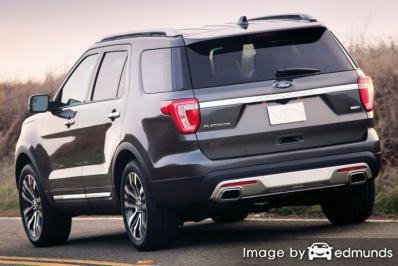 Discount Ford Explorer insurance