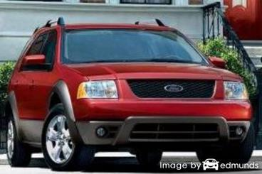 Insurance rates Ford Freestyle in Long Beach