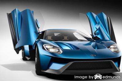 Insurance rates Ford GT in Long Beach