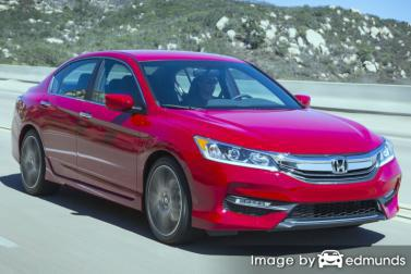Discount Honda Accord insurance