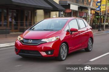 Insurance quote for Honda Fit in Long Beach