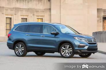 Insurance quote for Honda Pilot in Long Beach