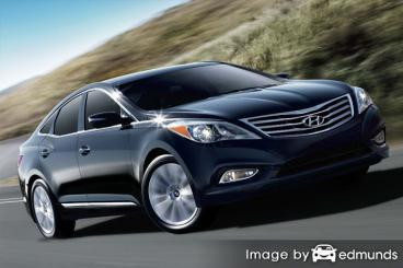 Insurance rates Hyundai Azera in Long Beach