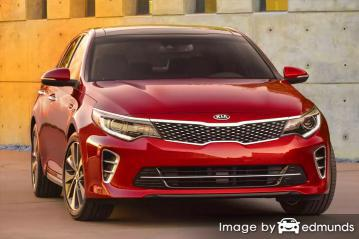 Insurance quote for Kia Amanti in Long Beach