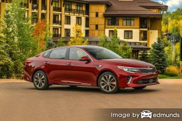 Insurance quote for Kia Optima in Long Beach