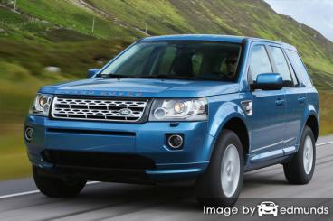 Insurance quote for Land Rover LR2 in Long Beach