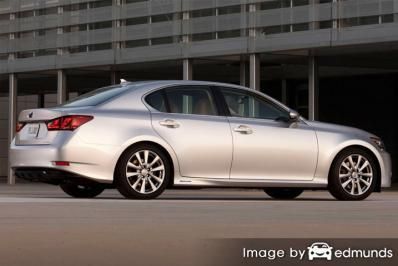 Insurance rates Lexus GS 450h in Long Beach