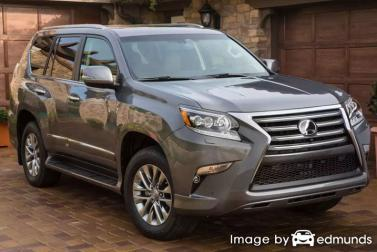 Insurance rates Lexus GX 460 in Long Beach