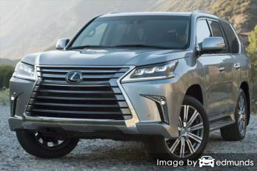 Insurance quote for Lexus LX 570 in Long Beach