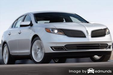 Insurance quote for Lincoln MKS in Long Beach