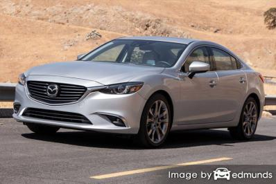 Insurance rates Mazda 6 in Long Beach