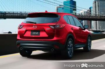 Insurance quote for Mazda CX-5 in Long Beach