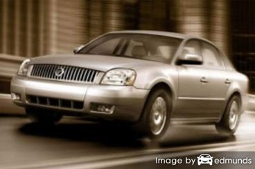 Insurance quote for Mercury Montego in Long Beach