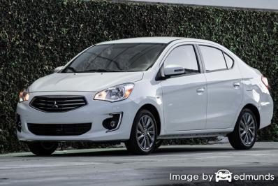 Insurance rates Mitsubishi Mirage G4 in Long Beach