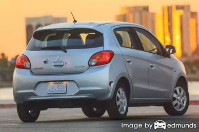 Insurance rates Mitsubishi Mirage in Long Beach