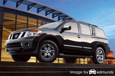 Insurance quote for Nissan Armada in Long Beach
