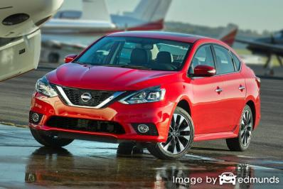 Insurance quote for Nissan Sentra in Long Beach
