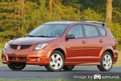 Insurance quote for Pontiac Vibe in Long Beach