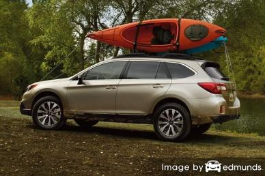 Insurance quote for Subaru Outback in Long Beach