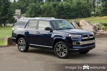 Insurance rates Toyota 4Runner in Long Beach