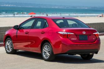 Insurance rates Toyota Corolla in Long Beach