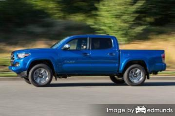 Insurance quote for Toyota Tacoma in Long Beach