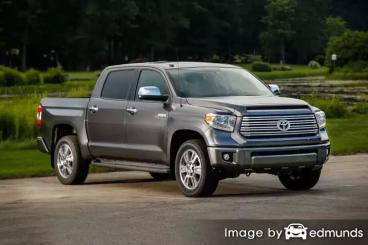 Insurance quote for Toyota Tundra in Long Beach