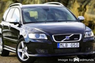 Insurance rates Volvo V50 in Long Beach